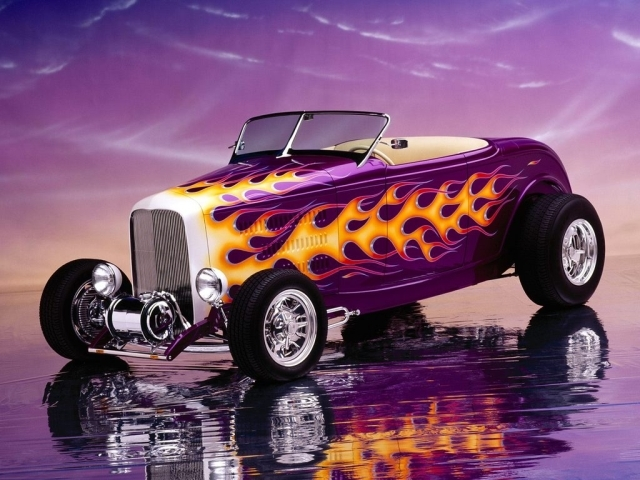 32 ford hot-rod from best-wallpapers. Category : Cars
