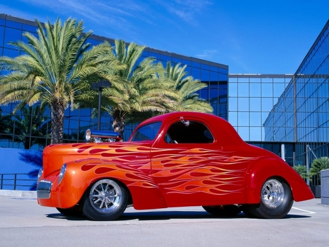 Ford hot rod from best-wallpapers. Category : Cars