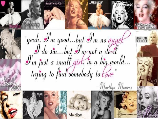 Marilyn monroe collage wallpaper backgrounds androlib marilyn monroe collage voltagebd Gallery