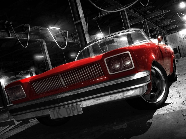 red car wallpaper. 3D red car from best-wallpapers. Category : 3D Graphics